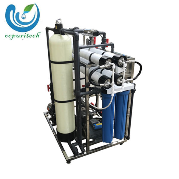 200lph manual reverse osmosis seawater used desalination plant in water treatment system