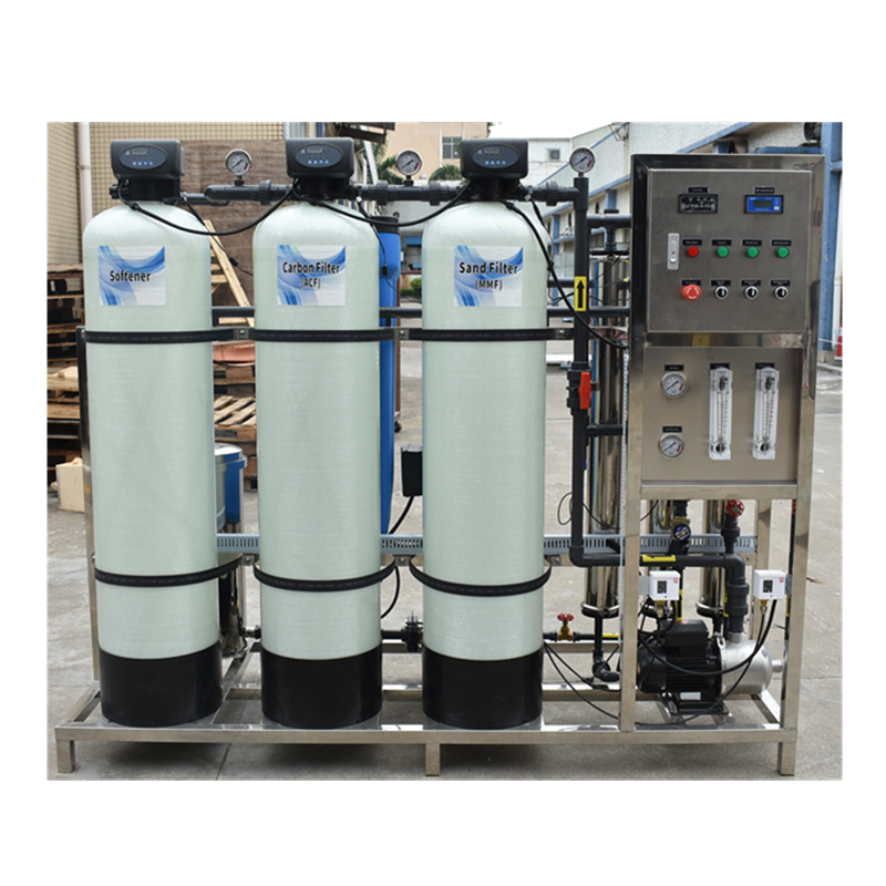 1000lph ro machine pure water production equipment