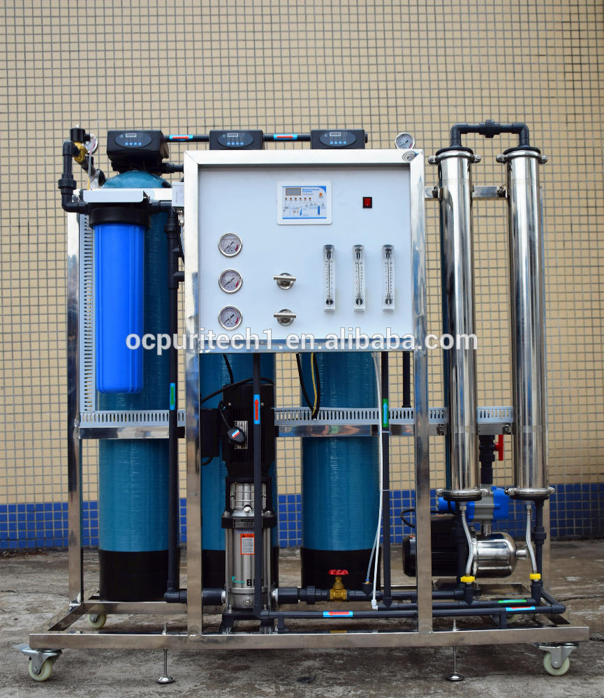 Factory price 500lph ro system small water treatment plant water purifier