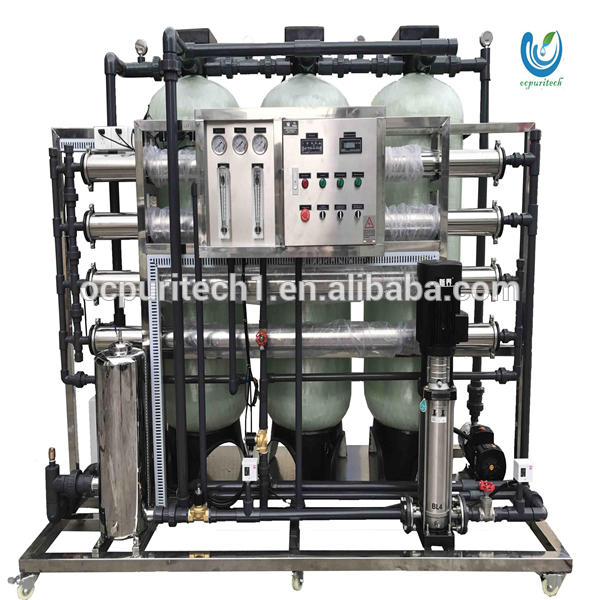 High quality uv salt water treatment chemical plant filters equipment