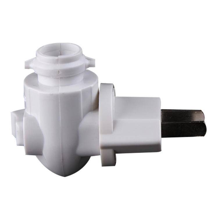 CE ROHS approved Pakistan Salt Wall lamp night light electrical plug in socket flat plug lamp holder 220V and 240V