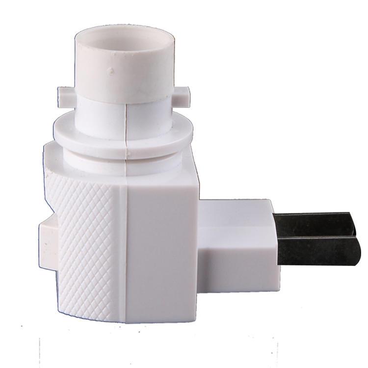 CE ROHS European plug E12 Switch night light electrical plug socket lamp holder with 5W 7W 15W 220V