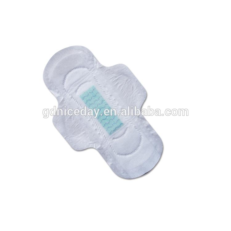 Niceday girl brand lady ultra dry sanitary napkins convex