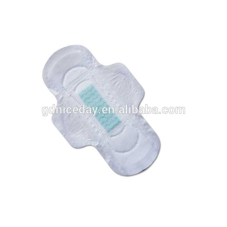 Niceday girl brand lady ultra dry sanitary napkins convex
