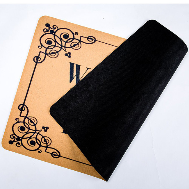 2020 new arrival colorful rubber door mat, custom printed floor mat on sale