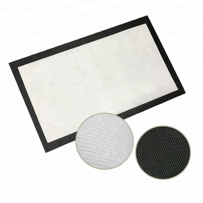 New arrival sublimation blank floor/door mat, custom printed door mat with rubber backing