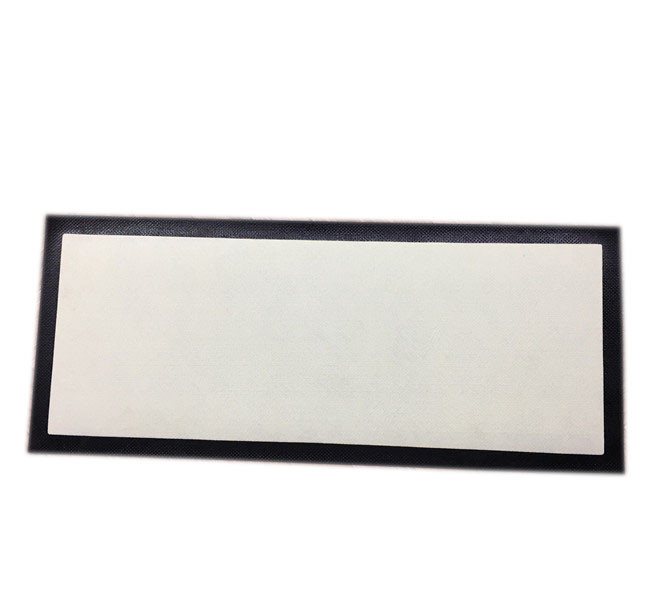 Dye sublimation blank door mat non woven fabric surface with rubber backing