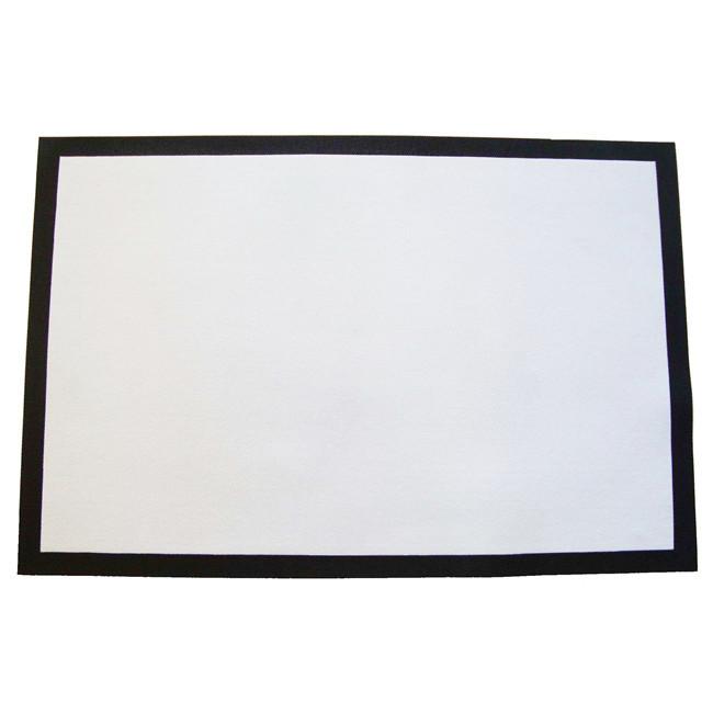 Low moq blank door mat, non woven polyester mat for custom printing