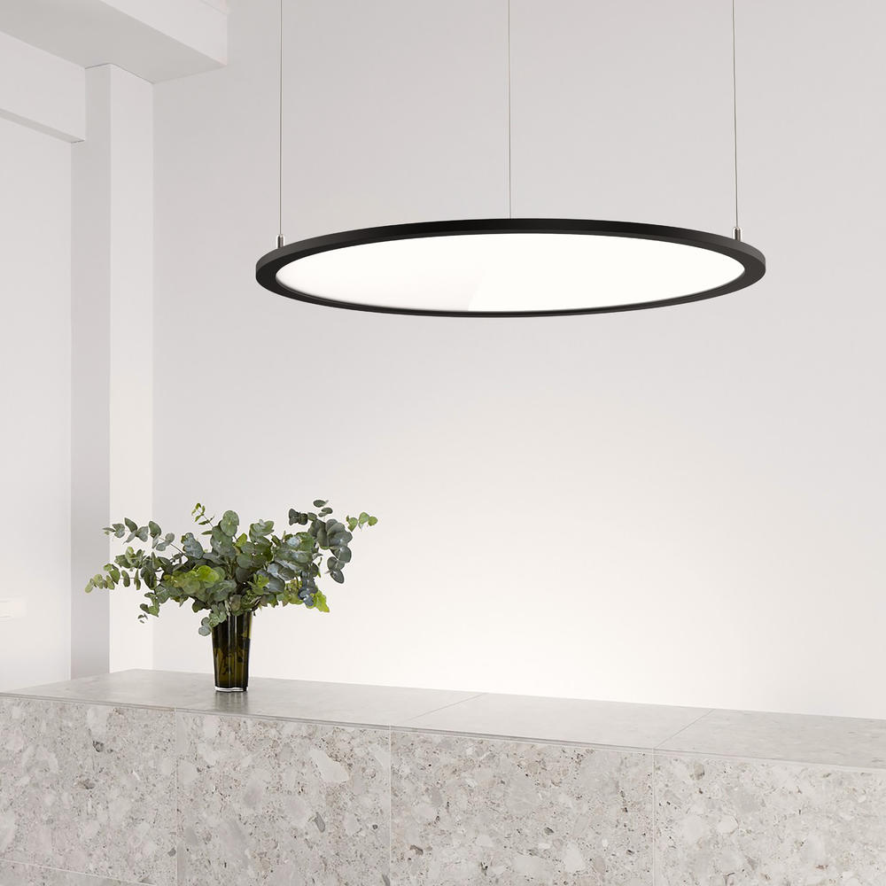 INLITY PNXT Clear Round LED Panel Light 900mm 4000K round ultra slim led panel light for the Residential