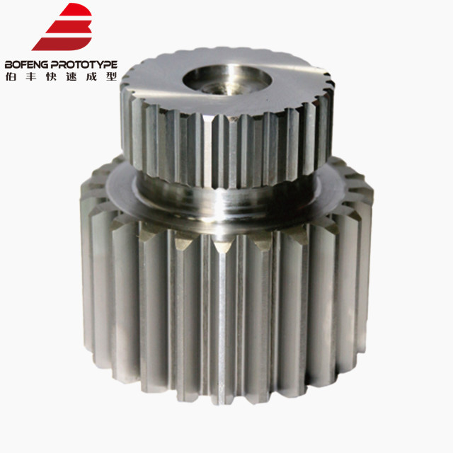 Custom High Precision TransmissionSteel Helical Gear Shaft for Machine