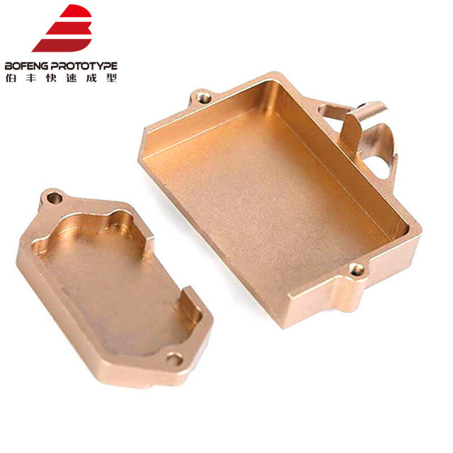 High Precision brass die casting brass sheetCNC Machining Parts In Anodized