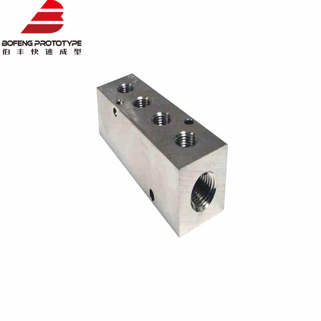 Custom CNC Machining Aluminium Block for Machining CNC Machining Spare Parts