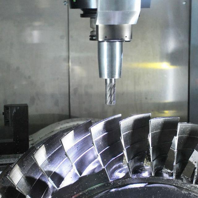 Highprecision 5 axis cnc machining customized metal turning partsstainless steel aluminum cnc machining