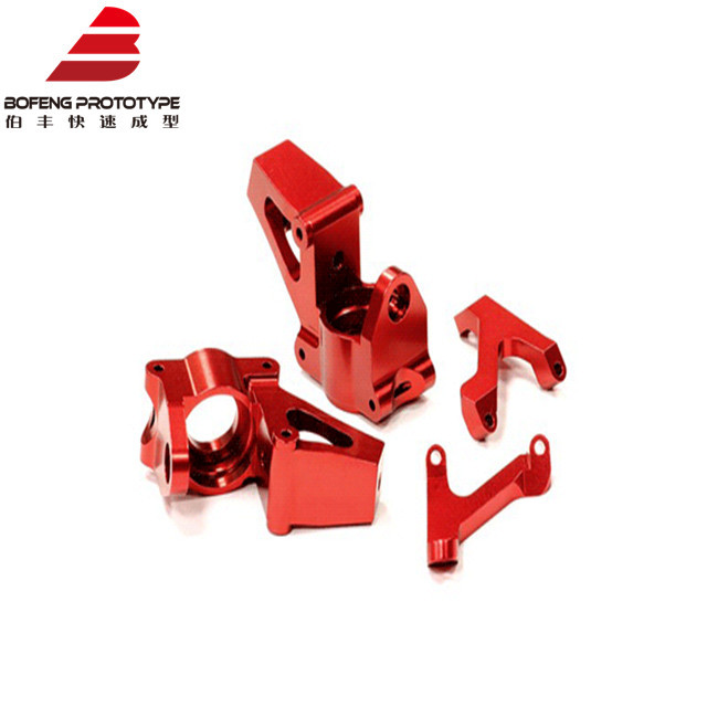 Red Anodize Aluminum 6061/7075/5052 CNC Milling Lathe Machining Parts/accessories