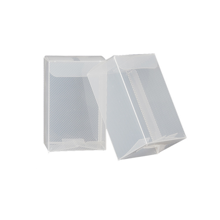 Clear Plastic Crafts Pet Pvc Pp Soap Case Business Card Custom Made Clear Transparent Small Plastic Packaging Box