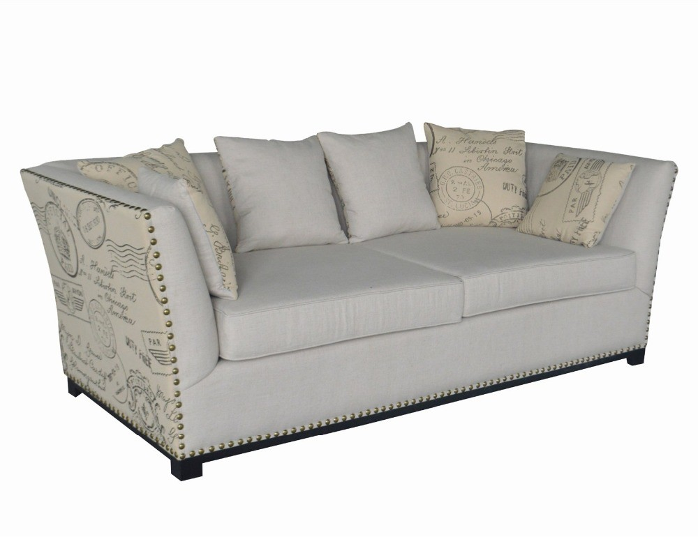 French Vintage Style Upholstery Sofa HL190-3