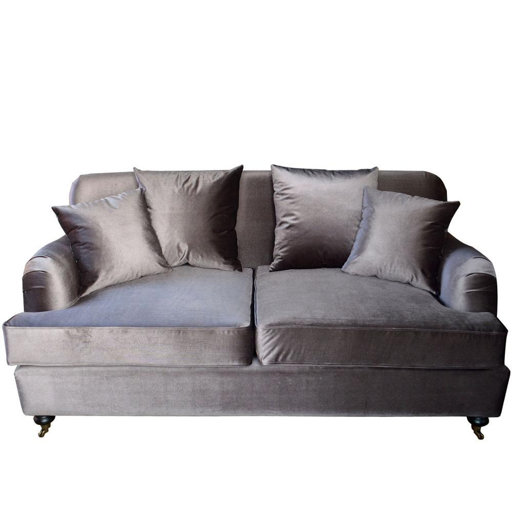Linen Upholstery Three Seater Lounge S1075-2