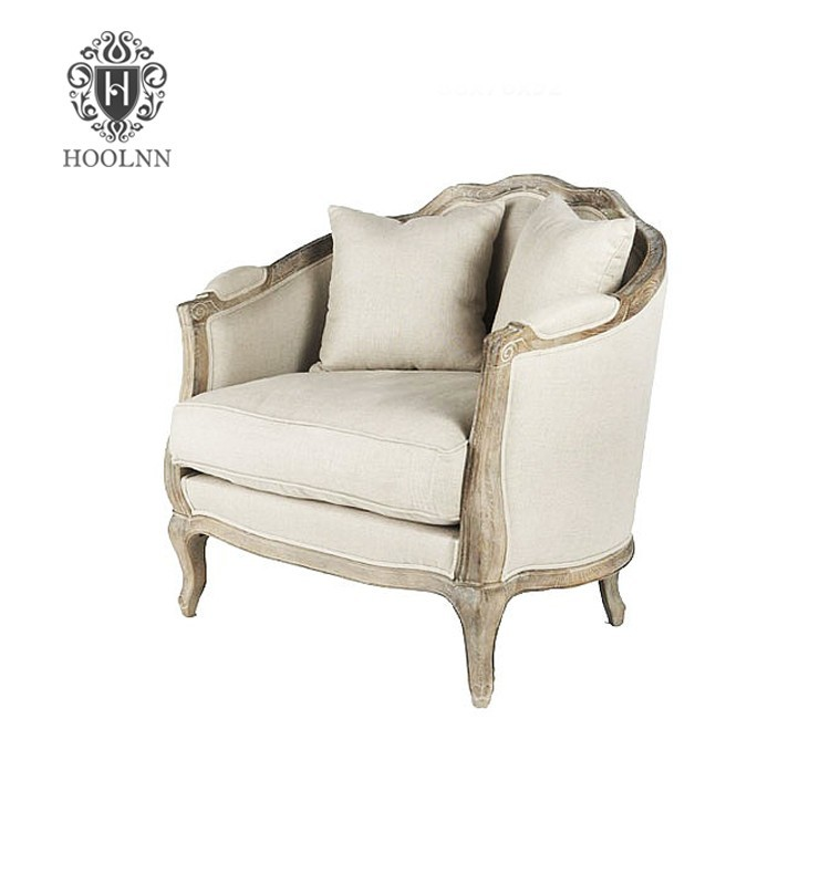 French Antique Living Room Sofa European Style