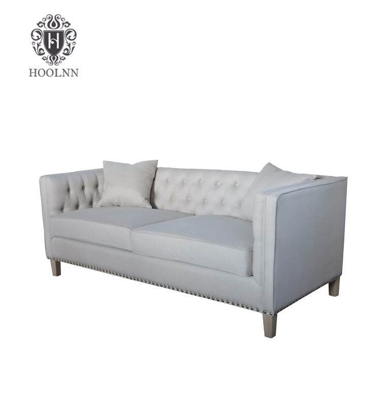 New upholstered sofa of linen fabric for 2016 HL210-200