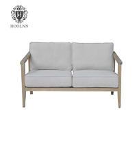 Brussels Mid-centry Modern Oak Frame Sofa S1004