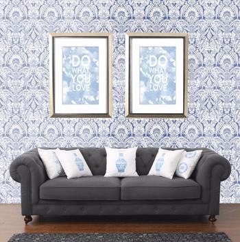 Chesterfield Belgian Linen Sofa
