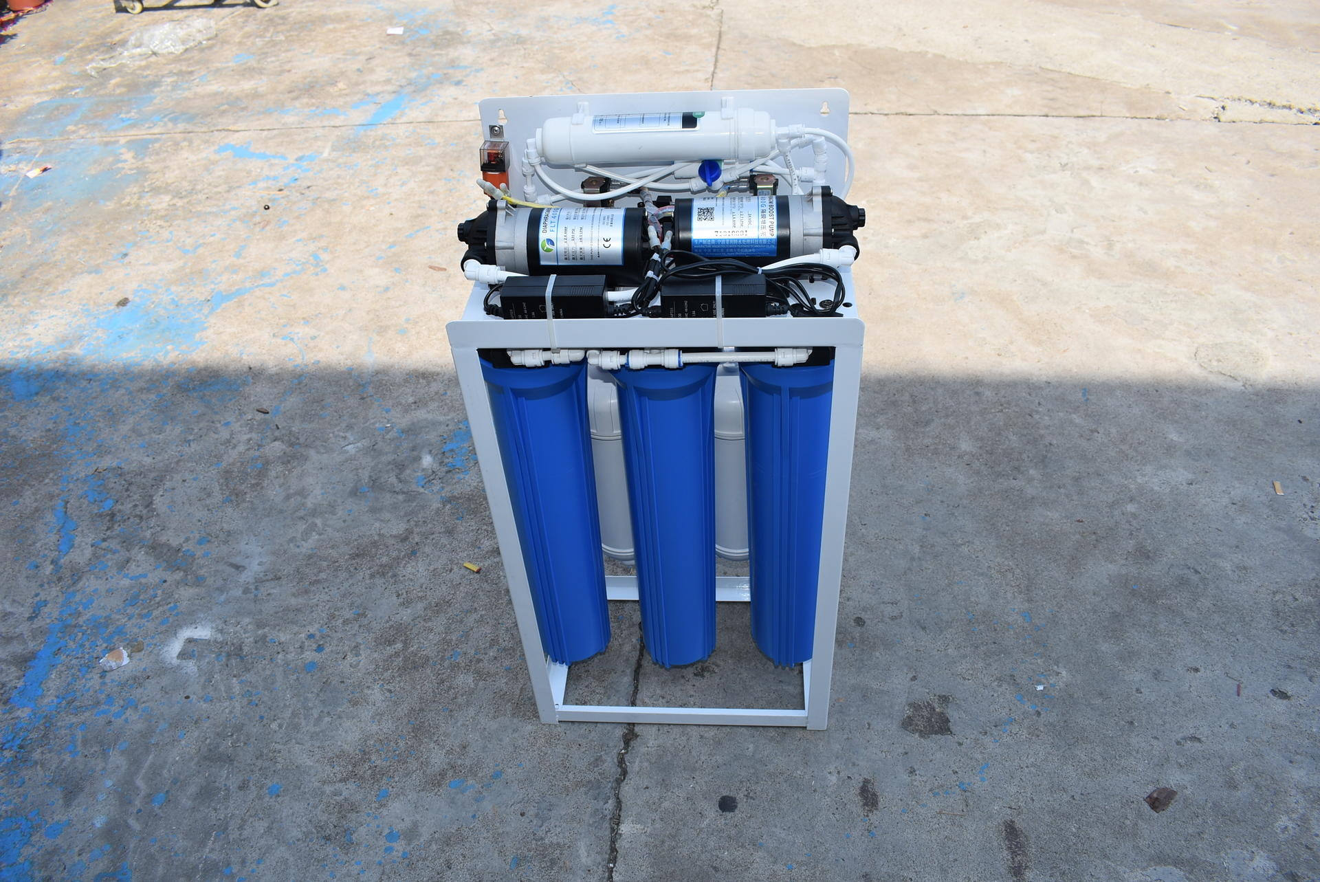 Commercial Reverse Osmosis Water Purifier 800Gpd System Portable Reverse Osmosis Water Treatment For Drinking Water