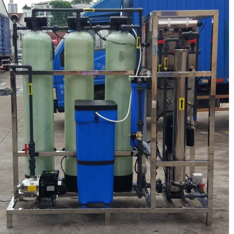 Small Reverse Osmosiswater filter 1500GPD 250 liter ro plant price