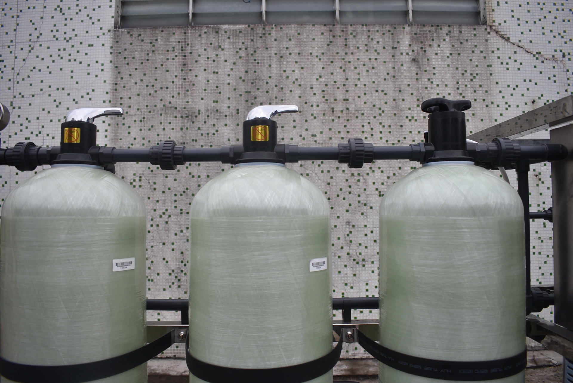 Manual 250lph ro water treatment system china made