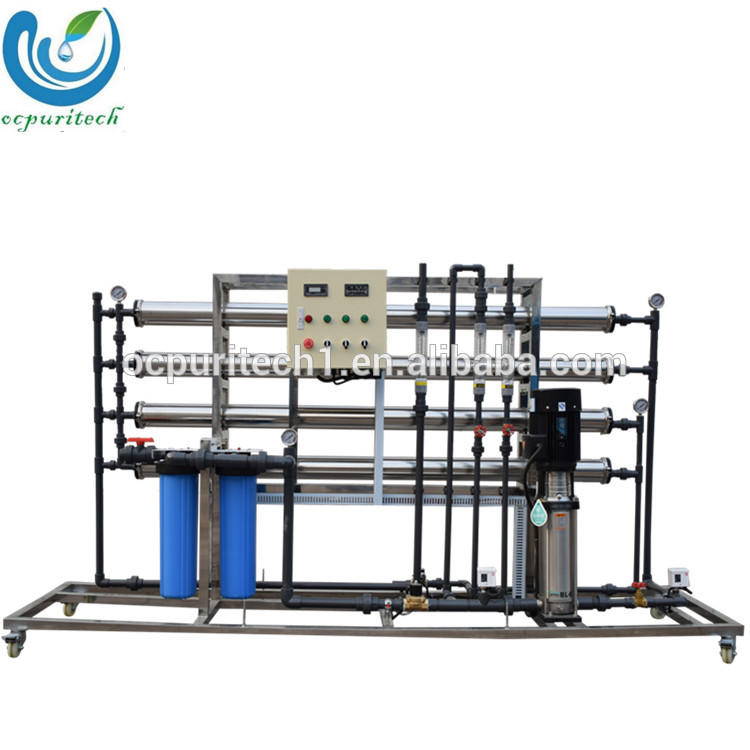 China commercial 2T/H water purification plant ro drinking water system