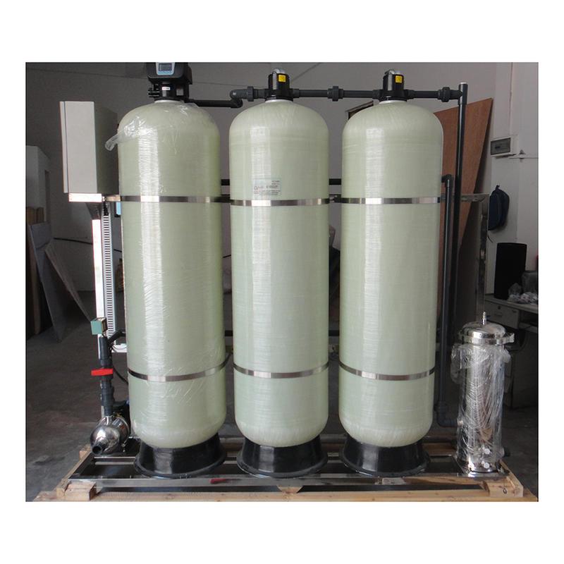 Manualwater treatment system valve Fiberglass Filter Tank