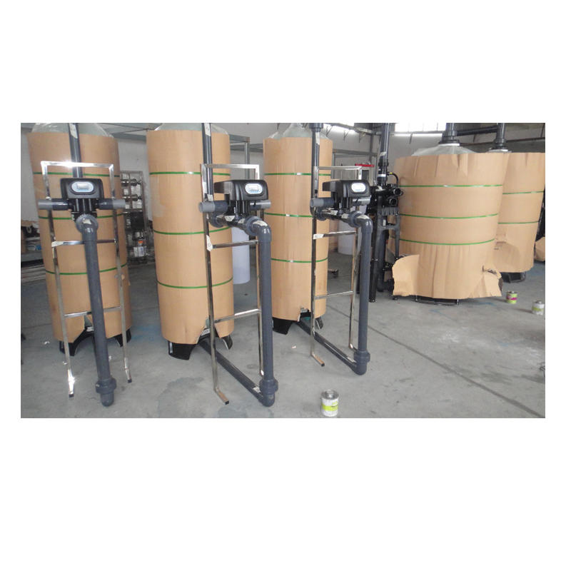 Water purification glass tank for drinking water purification plant