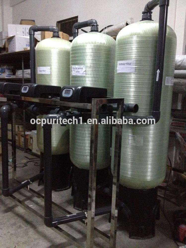 Industrial commercial Water treatment multi mediaro water filter filter pretreatment
