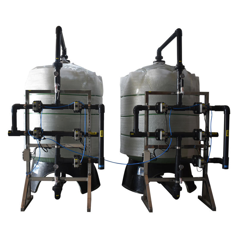 Industrial commercial Water treatment multi media filter and active carbon filter