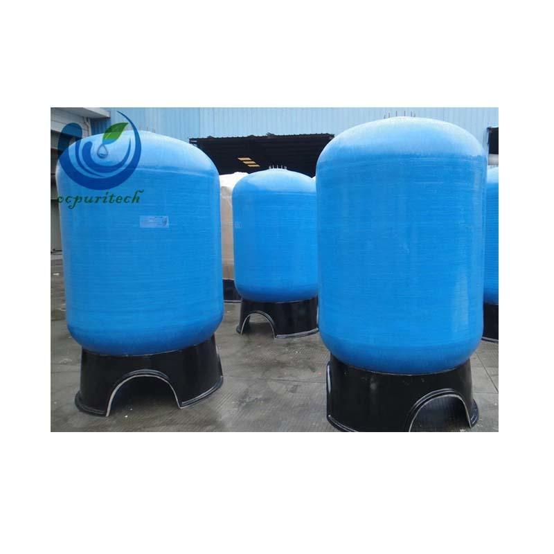 frp pressure sand filter tank / frp plastic water tank / pressure tank 1665