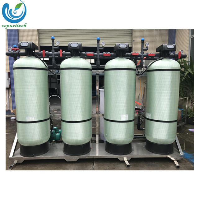 2.5T UF FRP tank with water filter/purifier system
