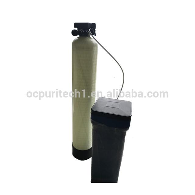 Fiberglass tank resin regeneration water softener ,Cation exchange water softener equipment