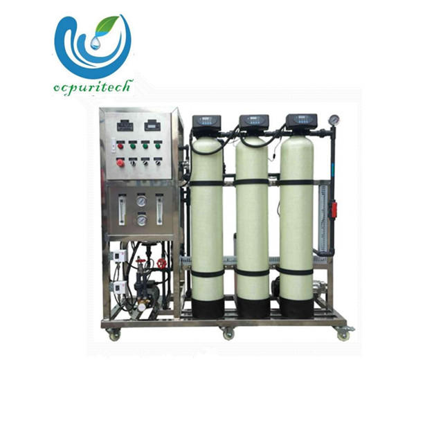 FRP water Tank with 800GPD RO water purifier