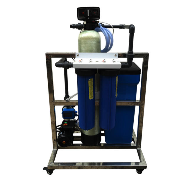 water Softener For Water Treatment Plant And Water Filter As Pretreatment