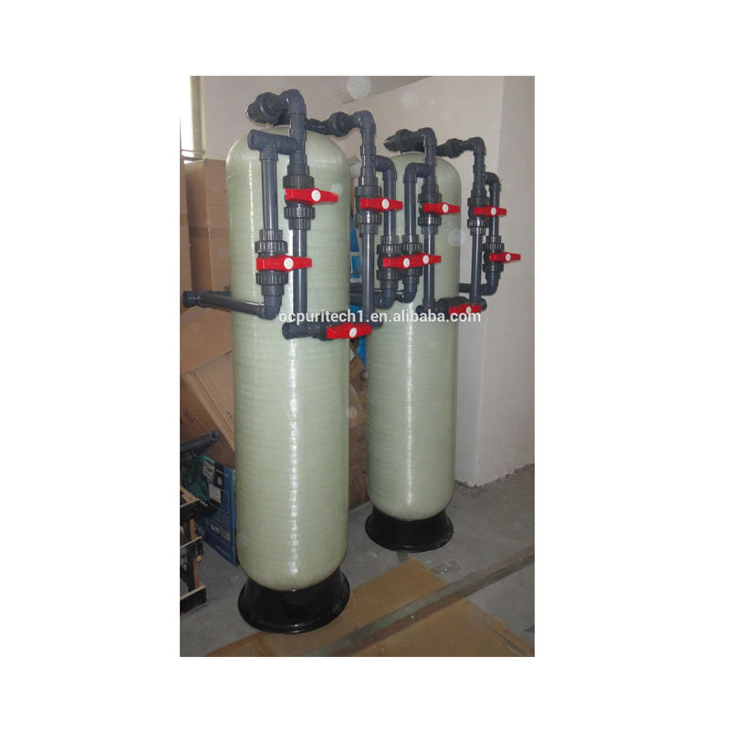 Multi media activated carbon filter pretreatment for water treatment