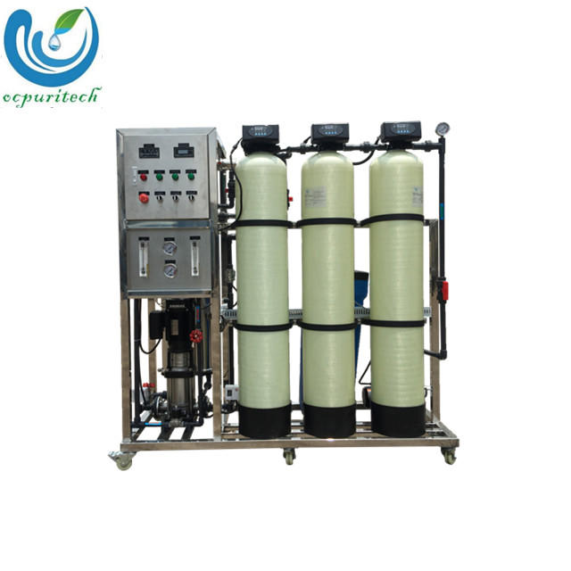 500 LPH activated carbon filter FRP water Tank