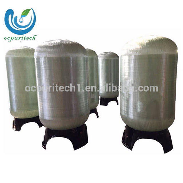 FRP Tanks for Sand filter Active carbon filter softener filter as water treatment pretreatment