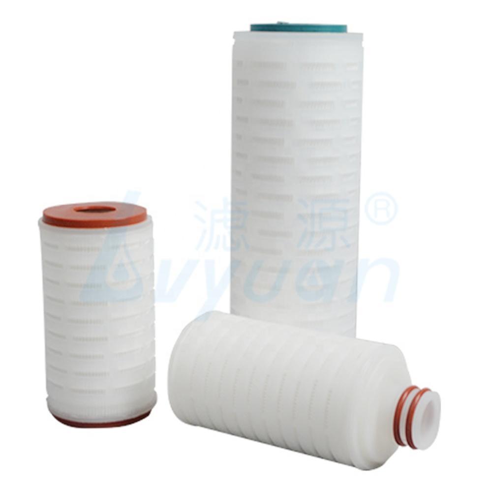 0.22 micron 0.45 um10 20 30 40 inch Nylon membrane pleated water filter cartridge