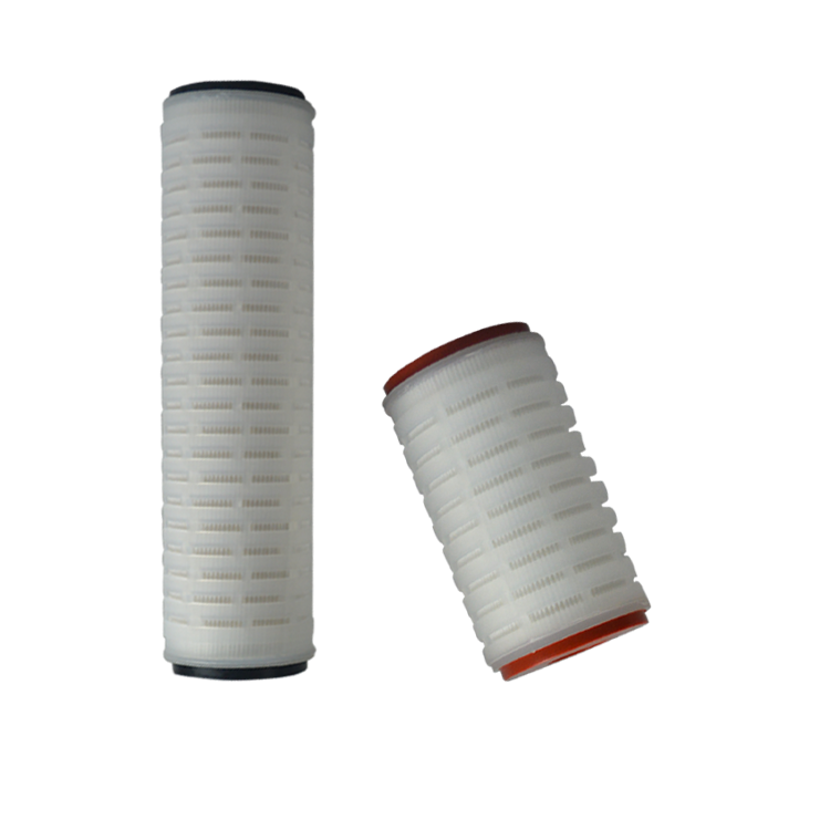 Whole sale polypropylene pleated water filter cartridge with high quality