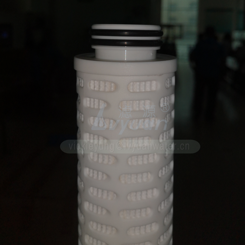 Oil field filtration system 10 20 30 40 inch fiber glass pleated membrane water filter with 1 5 10 microns glass fiber membrane