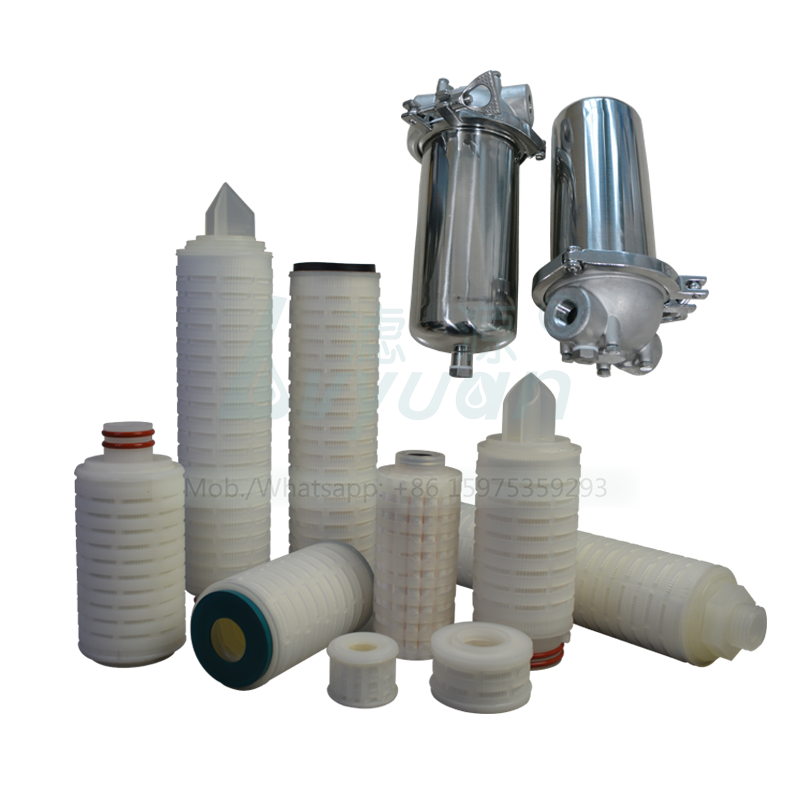 Chemical 2.5 5 10 inch 0.22/0.3/0.45/1 microns pes absolute filtration filter for 222 226 code sterile gas water air filter