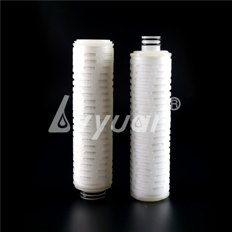 Natural Hydrophobic PTFE air vent filters Cartridge for Air/Gas