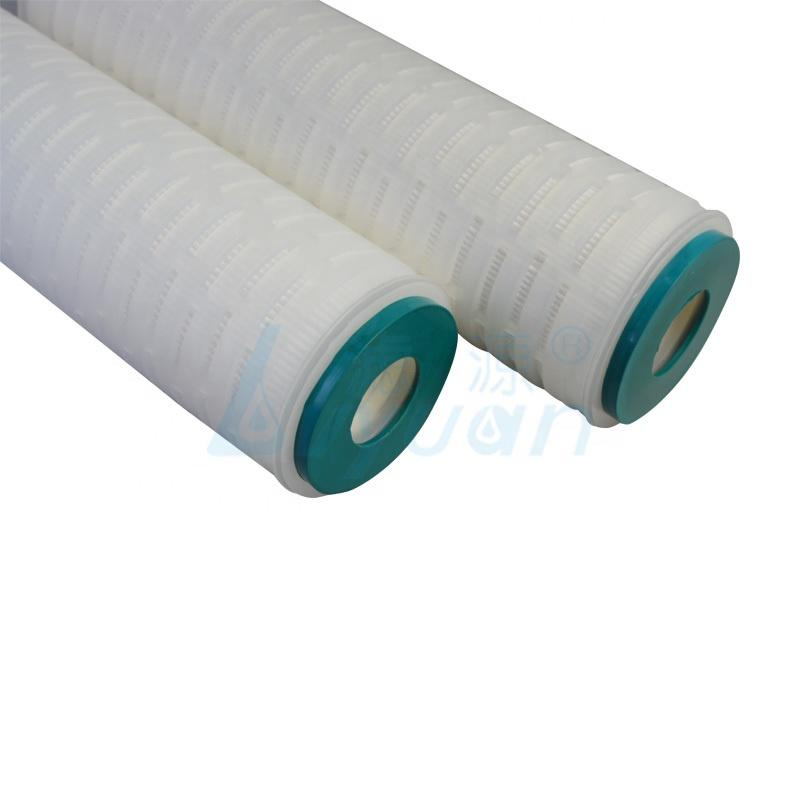 10 20 30 40 inch Pleated Polypropylene Cartridge Filter Element with 0.1 Micron Membrane