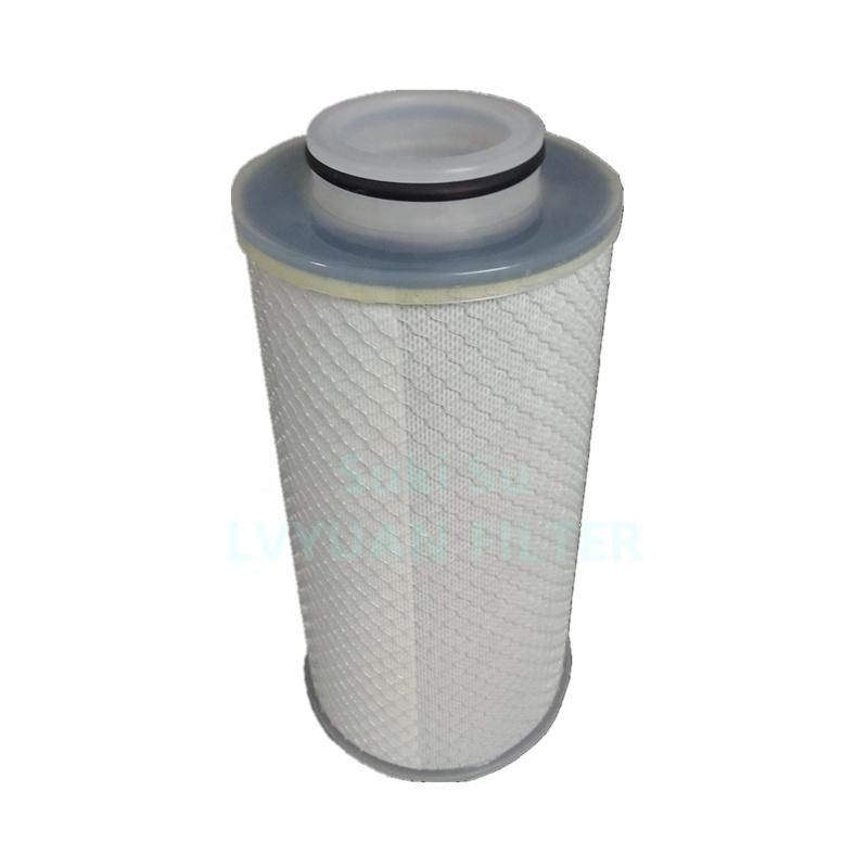 High flow rate 10/20/30/40/50 inch sediment pp pleated filter 0.1 micron chemical liquid filtration pleated filter