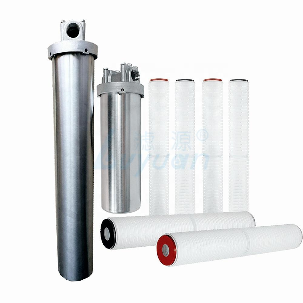 filter housing cartrige 0.1 micron pleated water filter sediment filter cartridge for water purification systems