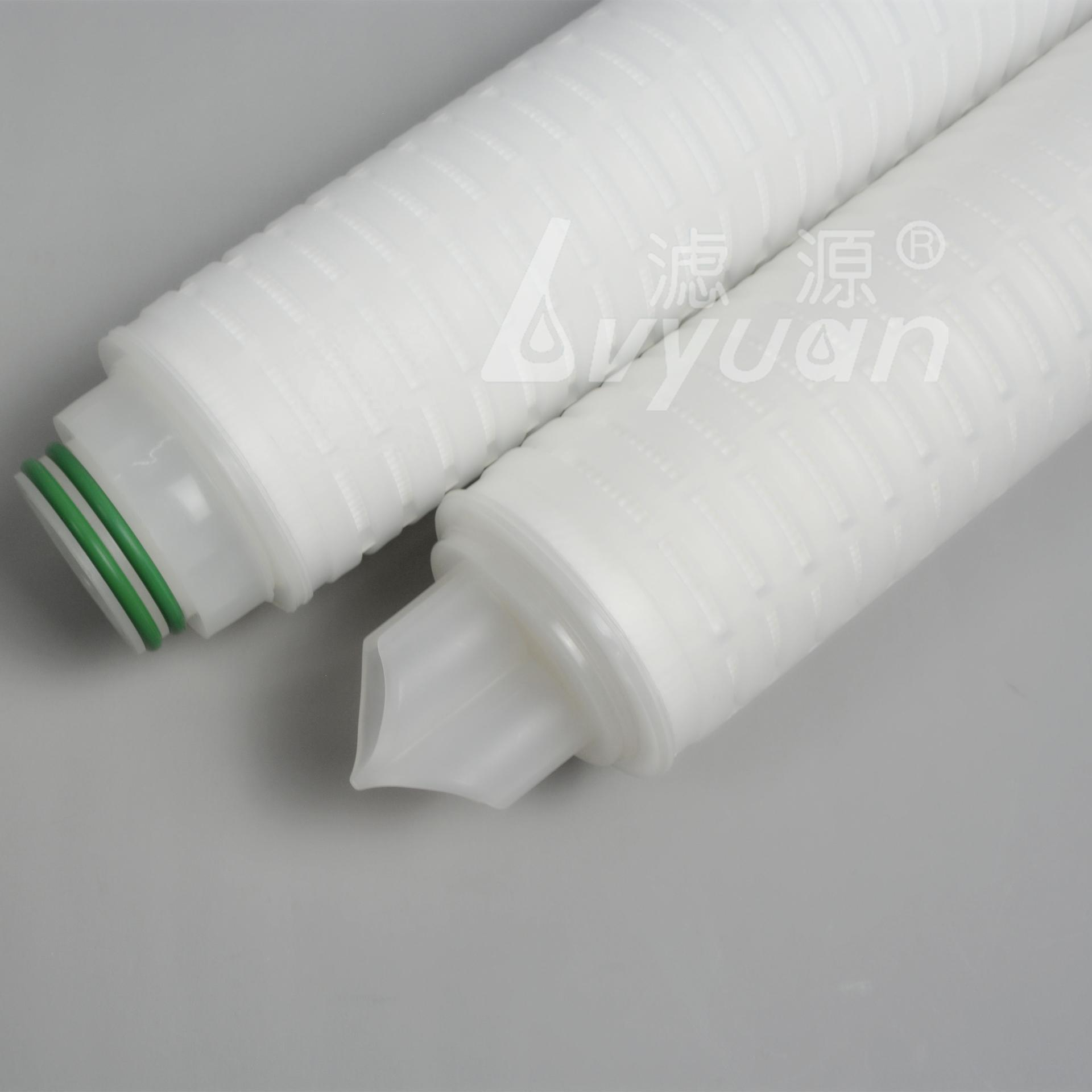 0.2 micron replacement filter water pp pleated filter cartridge 10 20 inch